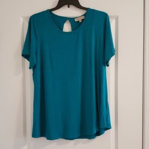 Philosophy Woman Teal Tunic